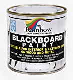 White Chalkboard Paint - 250ml Ideal to use with Liquid Chalk and Dry
