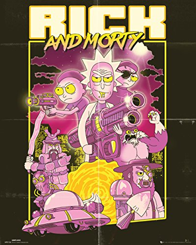 GB eye LTD, Rick and Morty, Action Movie, Mini Poster 40x50cm