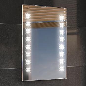 My furniture opticon illuminated led bathroom mirror amazon 500 x 700 mm illuminated led bathroom mirror backlit light sensor demister ml2101 aloadofball Image collections