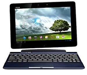 Asus Transformer Pad TF300T 25,7 cm (10,1 Zoll) Convertible Tablet-PC (NVIDIA Tegra 3, 1,3GHz, 1GB RAM, 32GB eMMC, NVIDIA 12 Core, Touchscreen, Android 4.0) inkl. KeyDock blau