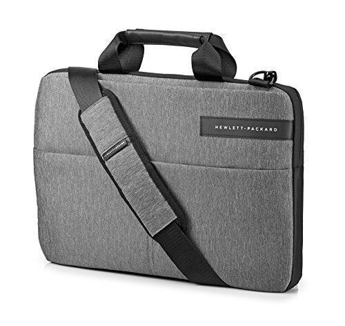 HP Signature Slim Top Load (L6V67AA) Umhängetasche mit Reißverschluss (für Notebooks) 35,5 cm (14,0 Zoll) Grau