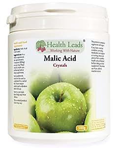 Malic Acid Powder (Food Grade) 500g (Home Brew/Wine Making)
