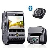VIOFO A129 Duo Autokamera Dashcam Auto Vorne und Hinten Full HD 1080P Sony Stavis Sensor WiFi GPS mit Drahtlose Bluetooth-Fernbedienung Unterstützung Blendschutzfilter