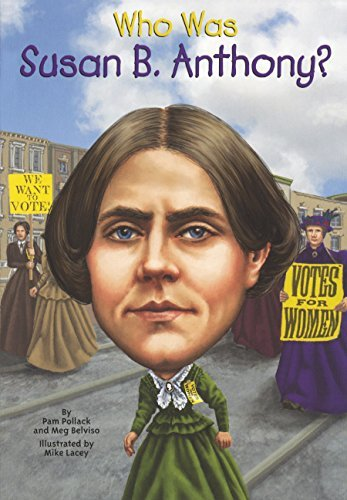 Who Was Susan B. Anthony? (Turtleback School & Library Binding Edition) by Meg Belviso (2014-10-30)