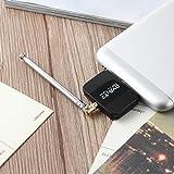 Lorenlli DVB-T2 Empfänger Micro-USB-Tuner Mobiler TV-Empfänger-Stick für Android Tablet Pad 48.25~863.25 MHz Frequenzempfänger
