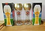 Erdinger Weißbiergläser/WM/Fußball-Edition/Pokal- Glas/WM-Pokal / 2er - Set