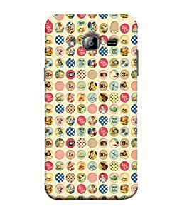 PrintVisa Designer Back Case Cover for Samsung Galaxy J7 J700F (2015) :: Samsung Galaxy J7 Duos (Old Model) :: Samsung Galaxy J7 J700M J700H (Daily Life :: Multi Photo Design :: Daily objects in life :: Needs of life :: Clipart design :: caricature design)