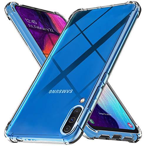 Ferilinso Cover per Samsung Galaxy A50, Custodia Case Ultra Slim Custodia Protettiva in Silicone Resistente ai Graffi Custodia alla Copertura in Gomma TPU per Samsung Galaxy A50(Trasparente)