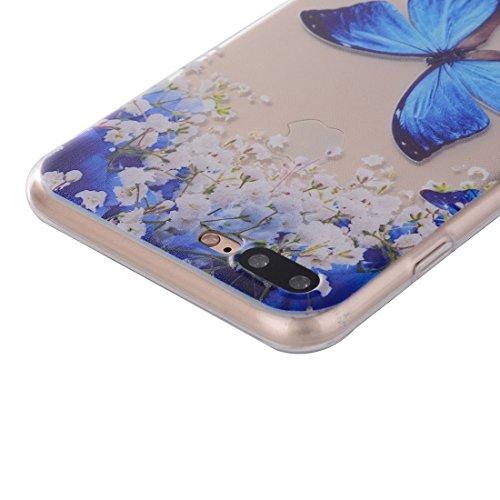 iPhone Case Cover Pour iPhone 7 Plus Dream Catcher motif transparent TPU douce étui de protection arrière ( SKU : Ip7p0096m ) Ip7p0096b
