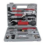 Zerone bicicletta Tool kit di riparazione professionale bicicletta strumenti di manutenzione 44 pezzi kit di attrezzi di riparazione bicicletta multi funzionale con scatola per tutti i tipi di bici