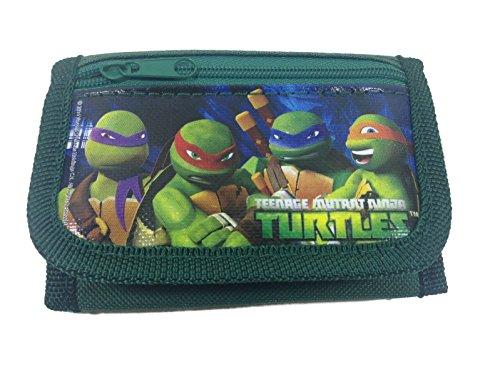 Trifold Wallet–Teenage Mutant Ninja Turtles–Grün New 514871-green (Tri-fold Grün Wallet)