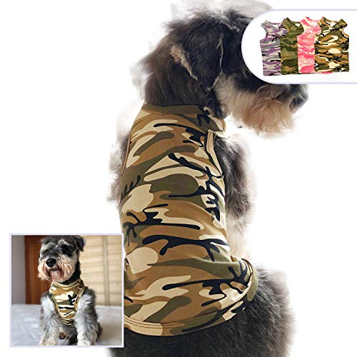 longlongpet - Camiseta de algodón Suave y cómoda para Perro, diseño de...