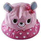 Happy Cherry Sombrero Infantil Tipo Pescador Cartoon Gorra Bucket Hat para Bebé Niño Niña...