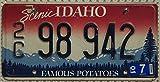USA Nummernschild Scenic IDAHO ~ US Kennzeichen Famous Potatoes ~