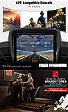 Sportstech F31 Profi Laufband mit innovativer Selbst-Schmier-Funktion & App Steuerung für Smartphone MP3 AUX Bluetooth 4PS 16km/h – klappbar und kompakt verstaubar (F31 – Aufgebaut) - 4