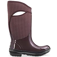 Bogs Plimsoll Houndstooth Tall Womens Wellies