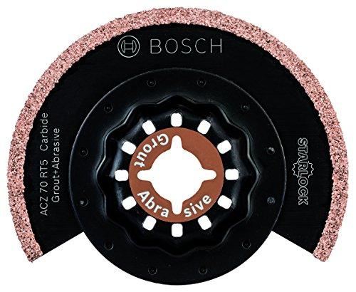 Preisvergleich Produktbild Bosch DIY Karbid Schmalschnitt-Segmentsägeblatt (Mörtel und Fliesenkleber für Multifunktionswerkzeuge Starlock) (ACZ 70 RT5)