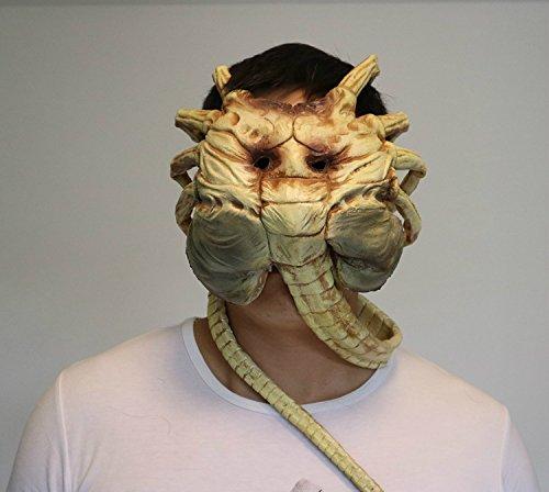 Hapahabie Halloween Scary Maske Geist Performances Scary Maske Party Kostüm Kleid Purge Masken