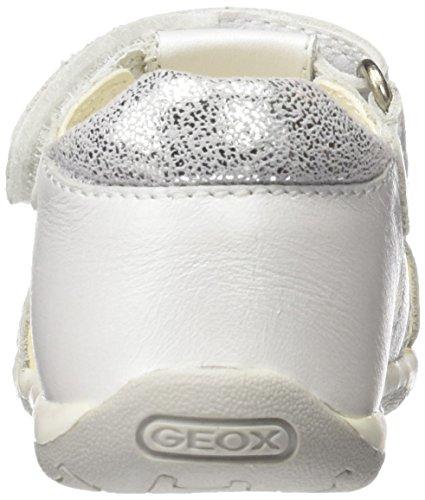 Sandal Chaussures Girl Tapuz Fille Marche Bébé Geox White Blanc B tHXqx