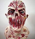 MM Máscara De Horror, Máscara De Zombies, Látex Máscara De Monstruo Bioquímico Traje De Disfraces Fiesta Halloween