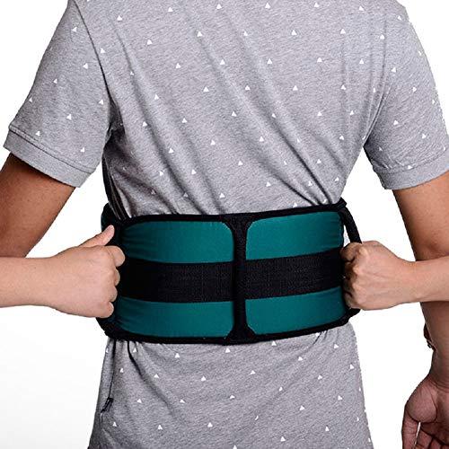Transfer Gürtel Mit Griffen - Medizinische Physiotherapie Transfer Walking Gait Gürtel - 2 In 1 Ständigen Support Aid Kit Für Patienten, Ältere Menschen, Schwangere Frau -