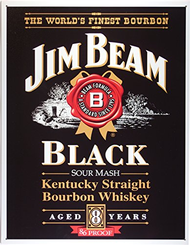 jim-beam-black-label-whisky-targa-placca-metallo-piatto-nuovo-31x40cm-vs855c