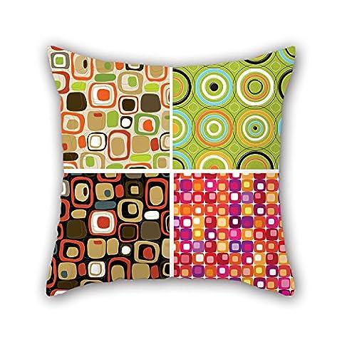 Pillo Taie d'oreiller de bloc de couleur, pour les adolescents, Wife, une salle de danse, adolescents, enfants garçons, chambre à coucher 45,7x 45,7cm/45par 45cm (Double Sides)