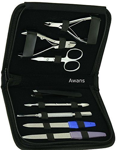 Awans - Set in acciaio INOX per manicure/pedicure...