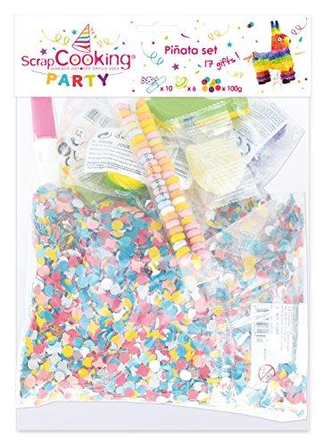 NG Party-0422-Lot de Pinta Spielzeug und Süßigkeiten-16-teilig ()
