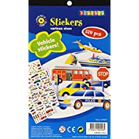 Playbox Vehicles Sticker Pad (Pack of 570)