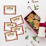 12x Aufkleber für Selbstgebackenes - Kekse Plätzchen Lebkuchen