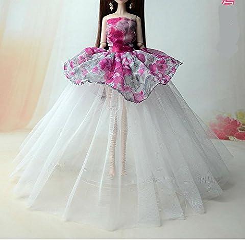 1 Robes pour Barbie /Mode Robe pour Poupée / Vêtements