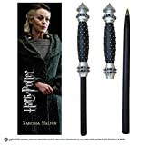 Noble Collection Harry Potter Wand Pen and Bookmark of Narcissa Malfoy's,