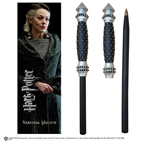 Noble Collection Harry Potter Wand Pen and Bookmark of Narcissa Malfoy\'s,
