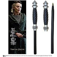 Noble Collection Harry Potter Varita Bolígrafo y marcapáginas de Narcissa Malfoy, nn7994
