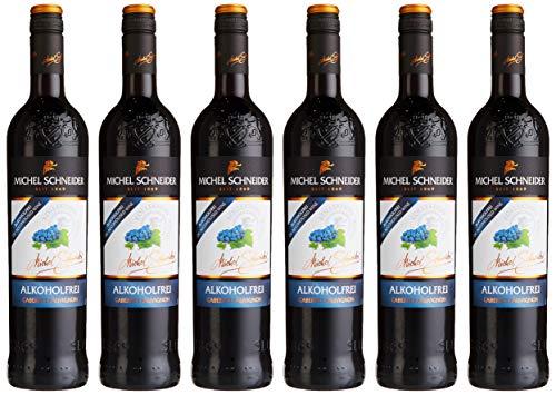 Michel Schneider Cabernet Sauvignon Rotwein Alkoholfrei (6 x 0.75 l)