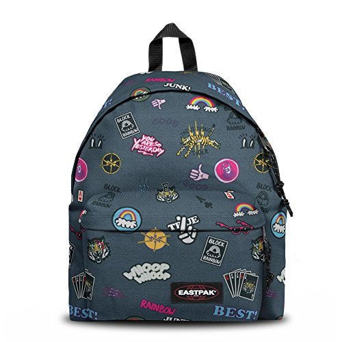 Eastpak Padded Pak'r Zaino, 24L, Multicolore (All Patched)