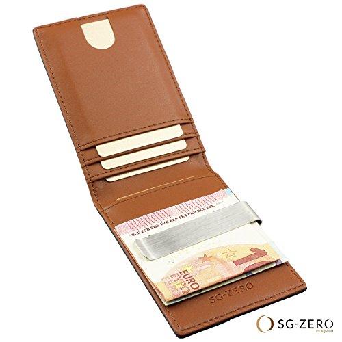 selezione migliore b487a d83f3 Portafoglio uomo vera pelle RFID - piccolo portafoglio ...