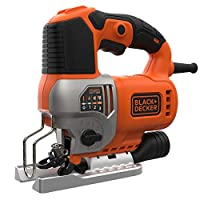 Black+Decker Pendulum Jig Saw 650W, BES610-GB