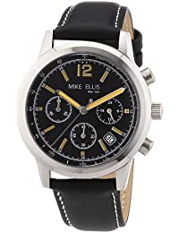Mike Ellis New York Herren-Armbanduhr XS Analog Quarz Leder M2451SSL/2