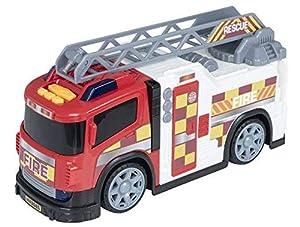 Dumel- Camión de Bomberos con Luz y Sonidos Teamsterz Juguetes (CYP 1)