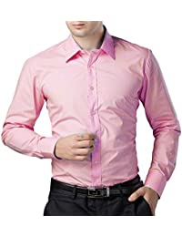 Amazon.in: Pink - Shirts / Men: Clothing & Accessories
