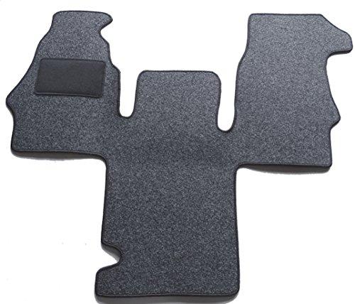 Preisvergleich Produktbild Alpha-Tex 2-6743-029-21 Fußmatten Fahrerhaus Teppich 1-teilig - Anthrazit