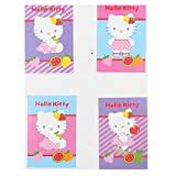 Einladungskarten Hello Kitty Fruity 4 verschiedene Motive mit Umschlag 24 Stk.