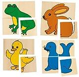 Produkt-Bild: Goki WG230 - Karemo- und Memospiel - Tiere