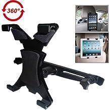 JCLIVETEK® Supporto universale da poggiatesta in auto per iPad 2/3/4/mini/Galaxy