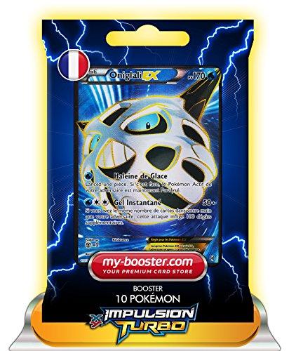 ONIGLALI EX FULL ART 155/162 170PV XY08 IMPULSION TURBO - Booster de 10 cartes Pokemon francaises my-booster