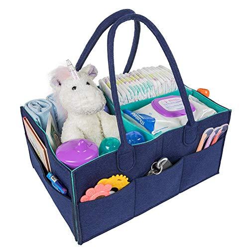 BYETOO Cesta Almacenamiento Pañales Bebé,Organizador