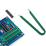 Minkoll IC-Chip-Schutz-Zangen, U-Art Edelstahl-ROM-Leiterplatte-Extraktor-Abbau-Puller-Klipp-Extraktion, grün