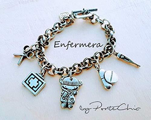 Pulsera ENFERMERA (Temática Profesiones)